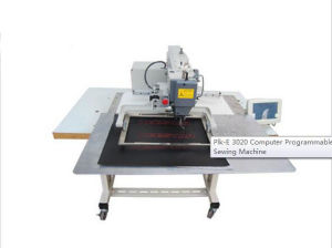Jh-3020 High-End Electronic Pattern Machine with Sewing Area of 300X200mm