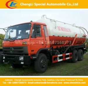 Dongfeng 6X4 245HP Fecal Sewage Suction Truck pictures & photos
