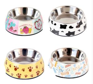 (BC-PE1002) High Quality Reusable Melamine Pet Basin pictures & photos