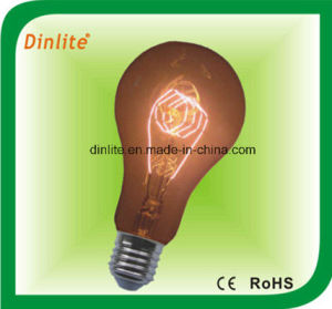 A21-40W E27 golden incandescent bulb pictures & photos