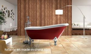 2016 Hot Acrylic Classic Freestanding Tub with Feet (LT-11T) pictures & photos