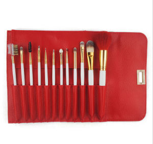 12 Pieces Natural Hair Noble Style Cosmetic Makeup Brush pictures & photos