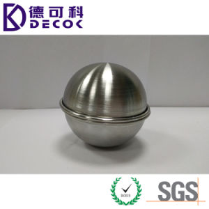 45mm 55mm 65mm 75mm 85mm Polished Stainless Steel Bath Bomb Moulds pictures & photos