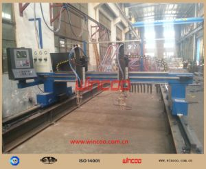 Cg1-4000 Type Multi-Head Strip Cutting Machine/ Steel Fabrication Line/ Steel Plate Cutting Station pictures & photos