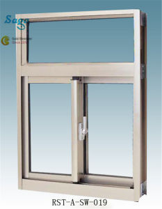 New Horizontal Sliding Window with Aluminium Alloy Saga Window