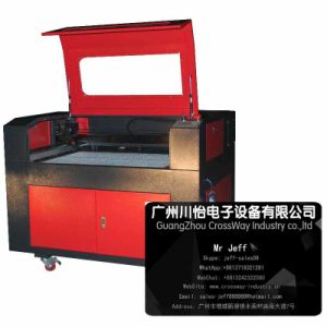 Best Laser Engraver Carving Machine for Cloth Fabic 6090 pictures & photos
