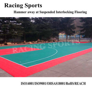 Tkl3048-16 China Supplier Good Elasticity Rebound Carpet Deck Hockey Flooring