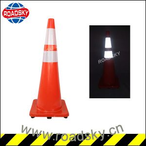 Low Price Unbreakable Triangle Warning Traffic Cone Sign Manufacturer pictures & photos