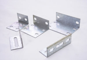 Galvanized Sheet Punching 90 Angle Connector pictures & photos