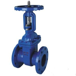 GB Ductile Iron Fire Fighting Wafer Type Gate Valve pictures & photos