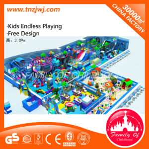 Kids Indoor Playground Equipment Zip Line Soft Playground pictures & photos