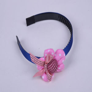 Pink Flower Modelling, Small Bowknot Ornament, Children, High School, College Girls Hair Accessories pictures & photos