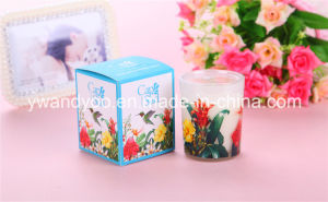 Christmas Scented Soy Wax Candle in Glass Jar with Gift Box pictures & photos
