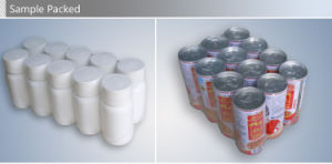 Fully Automatic Big Infusion Bottles Shrink Film Packing Machine pictures & photos