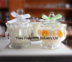 Wholesale Exquisite Glass Jar Fragrance Global Gift Candles