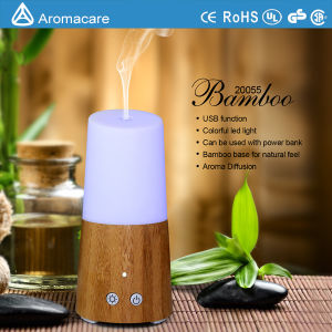 Aromacare Bamboo Mini USB Table Humidifier (20055) pictures & photos