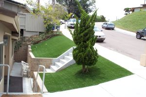 Perfect Design Cheap Synthetic Lawn pictures & photos