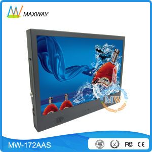 Wide Screen Classic 17 Inch LCD Media Player for Advertising Display (MW-172AAS) pictures & photos