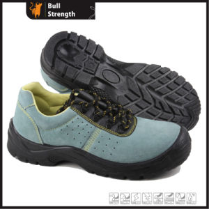 Industrial Leather Safety Shoes with Steel Toe and Steel Plate (SN5301) pictures & photos