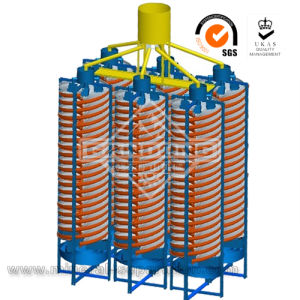 Spiral Gravity Separator for Gold Ore Plant Processing pictures & photos