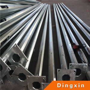 3m ~ 35m Hot Deep Galvanized Metal Pole with ISO CE pictures & photos