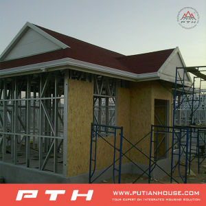 Luxury Durable Steel Structure Villa Restore House in Mozambique pictures & photos