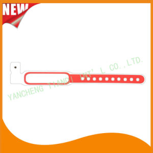 Hospital Plastic Write-on Infant ID Bracelet Wristbands Band (8020C10) pictures & photos