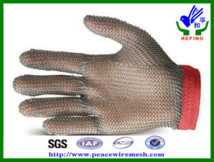 Stainless Steel Ring Mesh Gloves for Cutting (R-BXGST) pictures & photos
