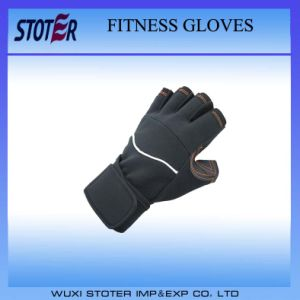 Hot Sale Leather Sports Gloves Fit Racing Gloves Fitness Gloves pictures & photos