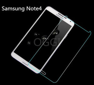 Tempered Glass Screen Protector 0.3mm 2.5D for Samsung Note4/N9100 pictures & photos