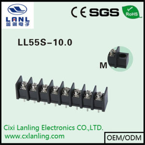 Ll55s-10.0 Black Barrier Terminal Blocks
