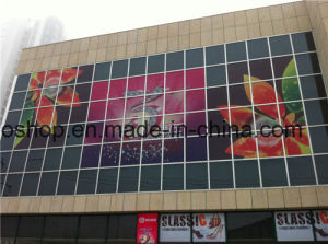 One Way Vision Window Film Self Adhesive Vinyl (160mic film 180g release paper) pictures & photos