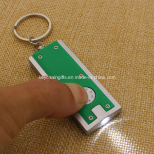 2016 Wholesale Cheap Custom Plastic LED Keychain pictures & photos
