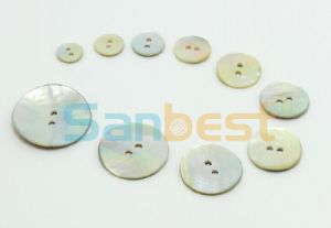 Natural 2-Holes Round Shell Button for Decoration pictures & photos