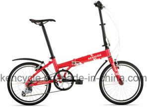 20 Inch Hi-Ten Material 7 Speed Folding Bik/Cheap Folding Bike pictures & photos