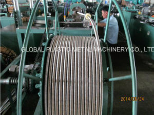 Corrugated Flexible Metal Water/Gas/Solar/Sprinkler Hose Manufacturing Machine pictures & photos