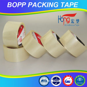 Clear BOPP Packing Tape for Carton Sealing