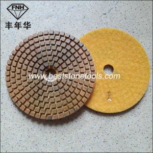 "Wd-11 Diamond Stone Wet 3 Step Polishing Pad (4""/100mm)"