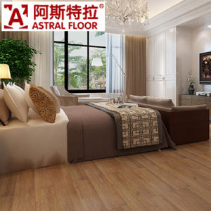 Household 8mm and 12mm Commercial Laminated Parquet Flooring pictures & photos