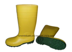 Safety PVC Rain Boots with Steel Toe 106yg pictures & photos