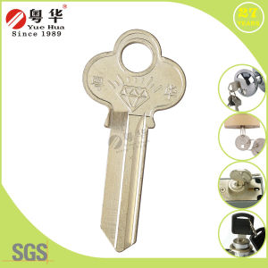 Brass Nickel Plated Lw4 Key Blank for Padlocks pictures & photos
