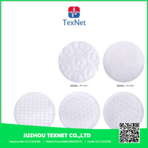 Round Cosmetic Facial Cotton Pad Embossed for Buauty Salon pictures & photos