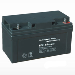 100ah/120ah/200ah Free Maintenance Sealed Lead-Acid Solar Battery for Power Supply pictures & photos
