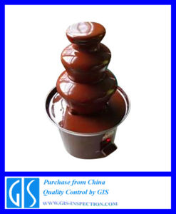 Product Inspection Service/Quality Control Inspection for Chocolate Fountain pictures & photos