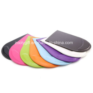 Assorted Color PU Leather Mouse Pad with Wrist Rest / Promotional Gift Mouse Pad pictures & photos