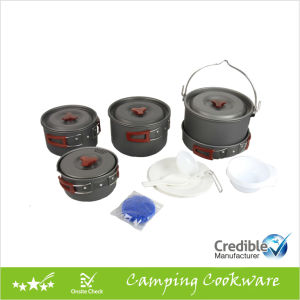 Camping Cookware Set Camping Cooking Pot for 7-8 Persons pictures & photos