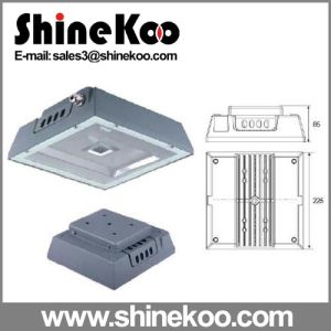 Small Gas Station Glass LED Ceiling Lights Housing (SUN-GC-15) pictures & photos