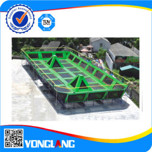 2015 Best Sellig Trampoline with Safety Net pictures & photos