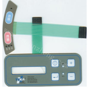 3m Adhesive Water Resistant Membrane Switch with UL and RoHS Certification Panels pictures & photos