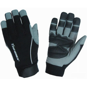 Promotion New Design Mechanical Professional Worker Safety Gloves pictures & photos